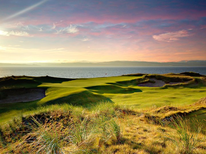 Castle stuart background image homepage