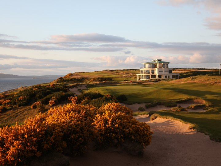 Castle stuart 9th green