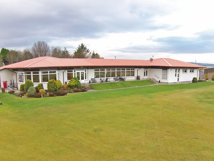 Tain golf house %28drone%29