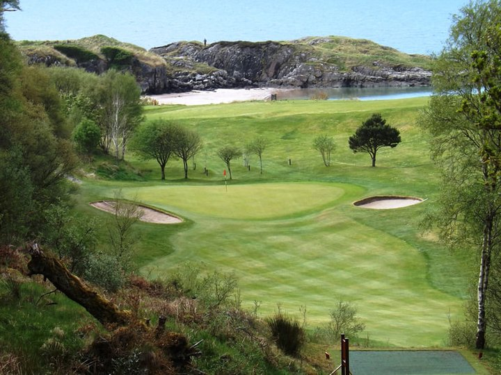 Gairloch 6th green