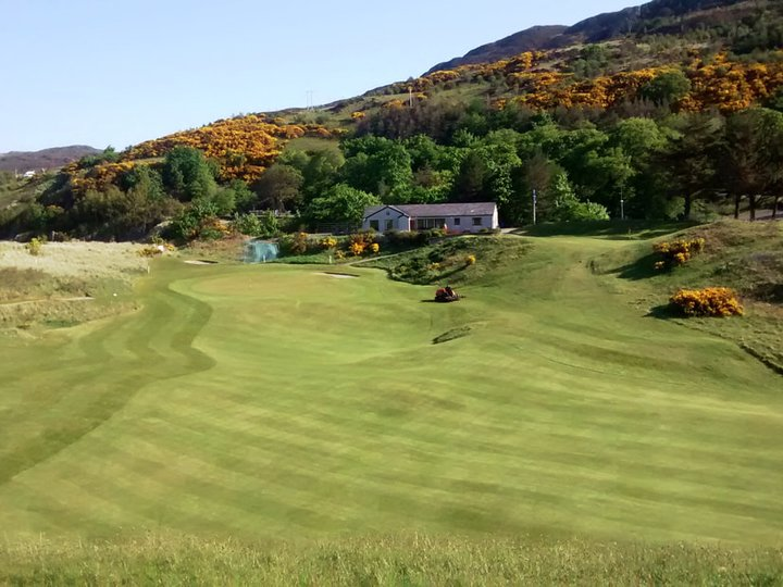 Gairloch 8th fairway